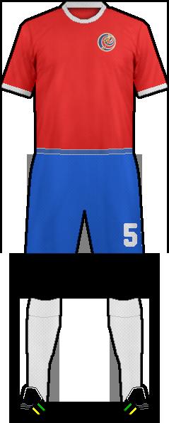 half off ee226 6456f Logo of COSTA RICA NATIONAL FOOTBALL TEAM