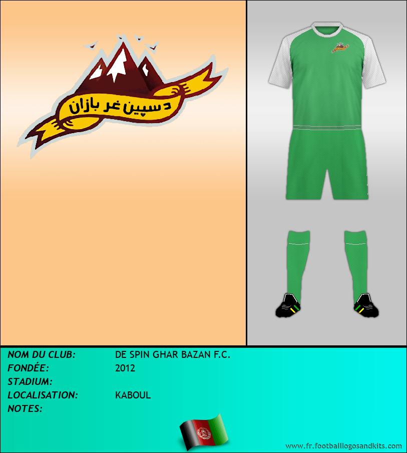 Logo de DE SPIN GHAR BAZAN F.C.