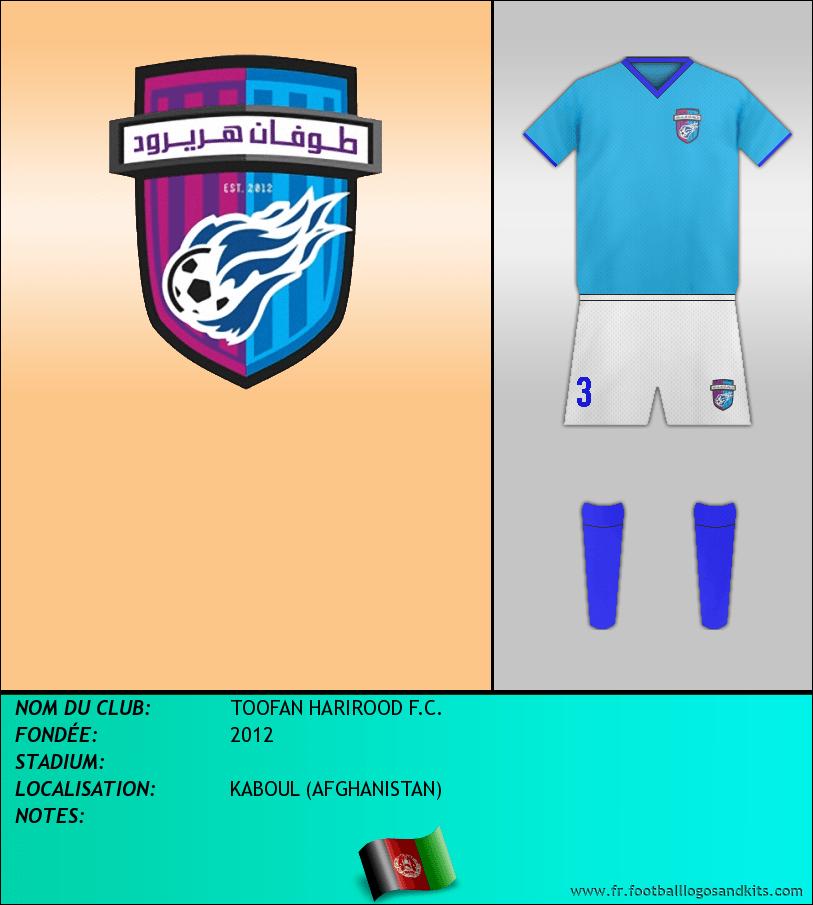 Logo de TOOFAN HARIROOD F.C.