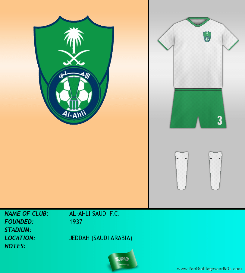 Logo of AL-AHLI SAUDI F.C.