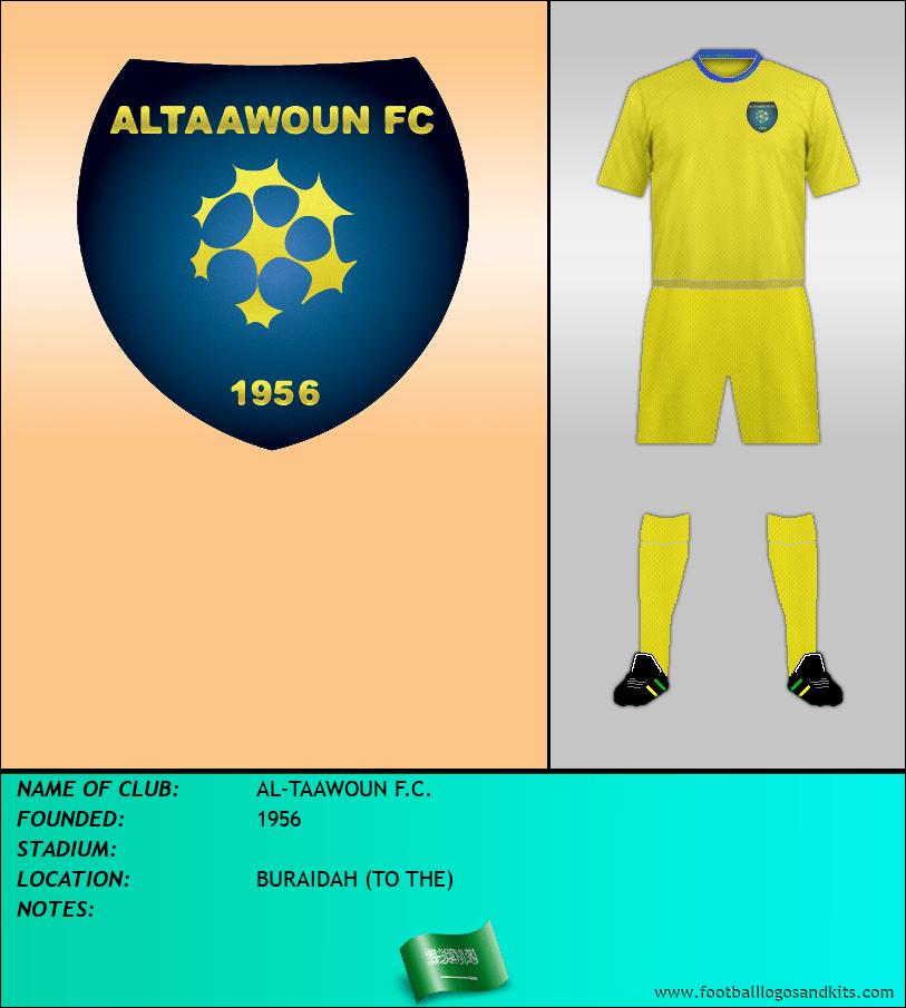 Logo of AL-TAAWOUN F.C.