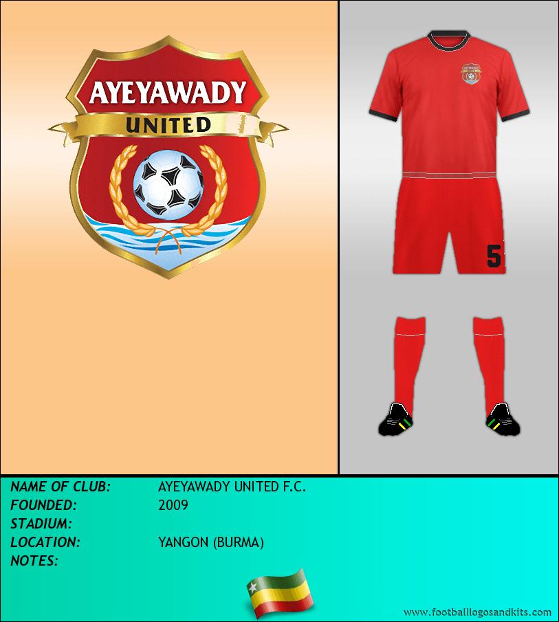 Logo of AYEYAWADY UNITED F.C.