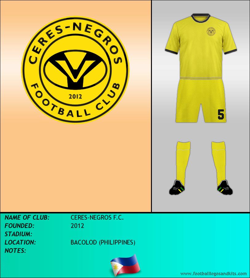 Logo of CERES-NEGROS F.C.
