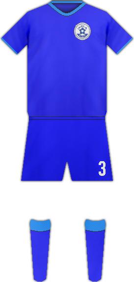 Kit INDIA NATIONAL FOOTBALL TEAM