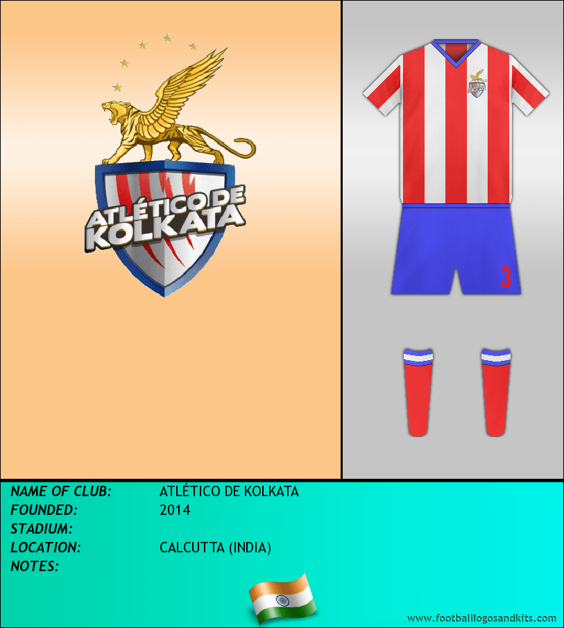 Logo of ATLÉTICO DE KOLKATA