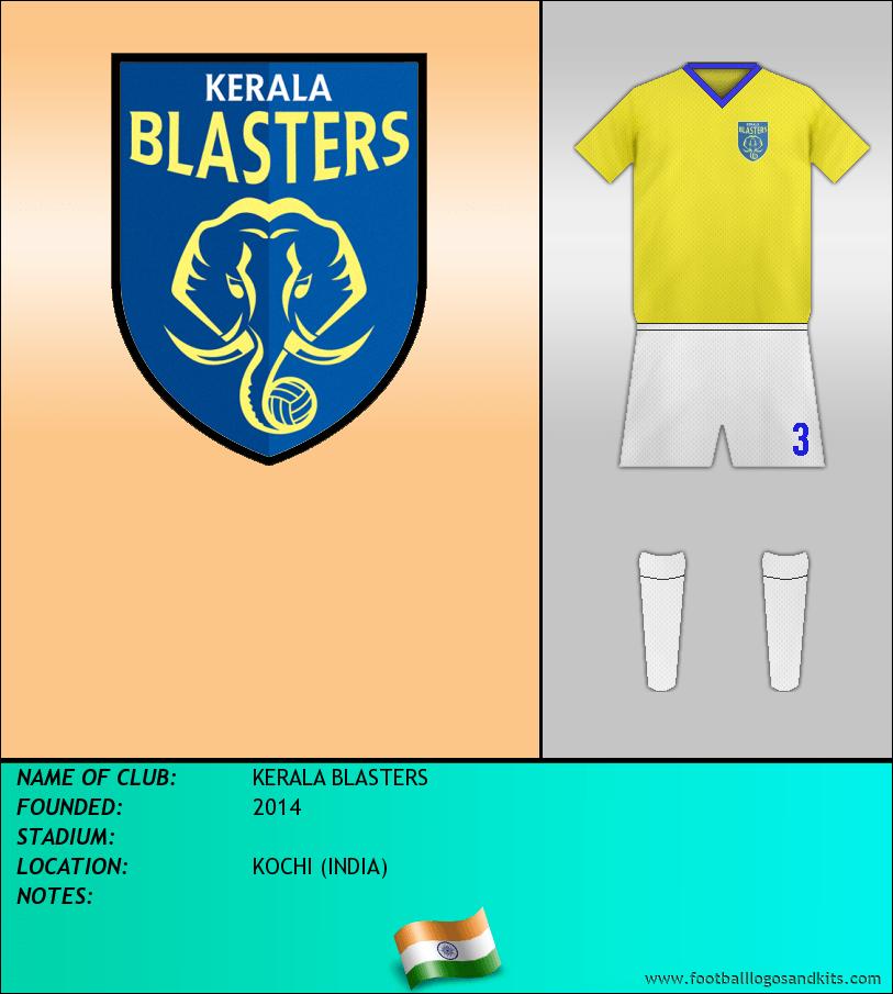 Logo of KERALA BLASTERS