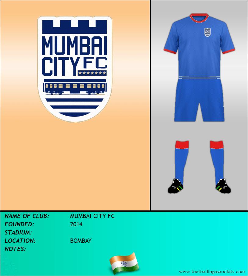 Logo of MUMBAI CITY FC