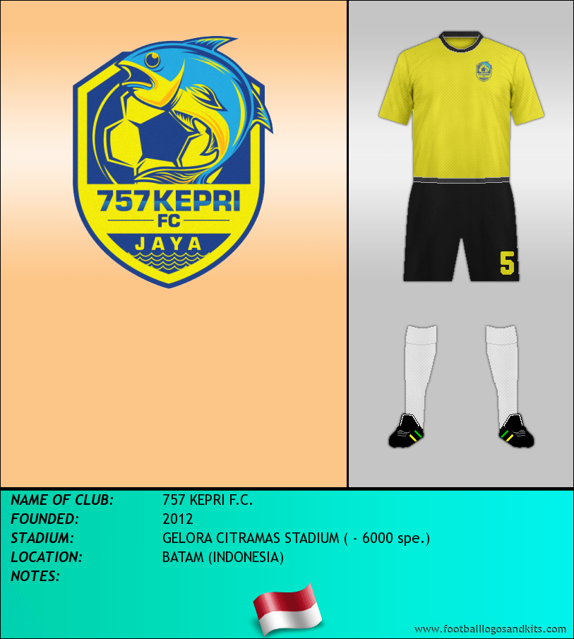 Logo of 757 KEPRI F.C.