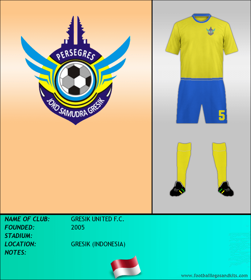 logo of gresik united f c football logos and kits football logos football logos and kits