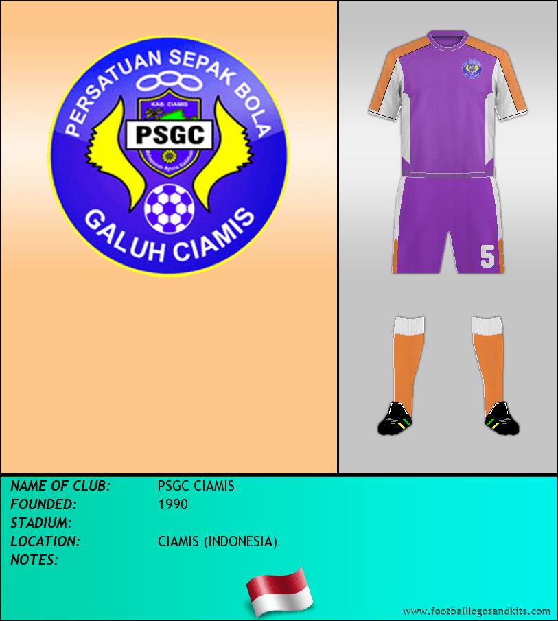 Logo of PSGC CIAMIS