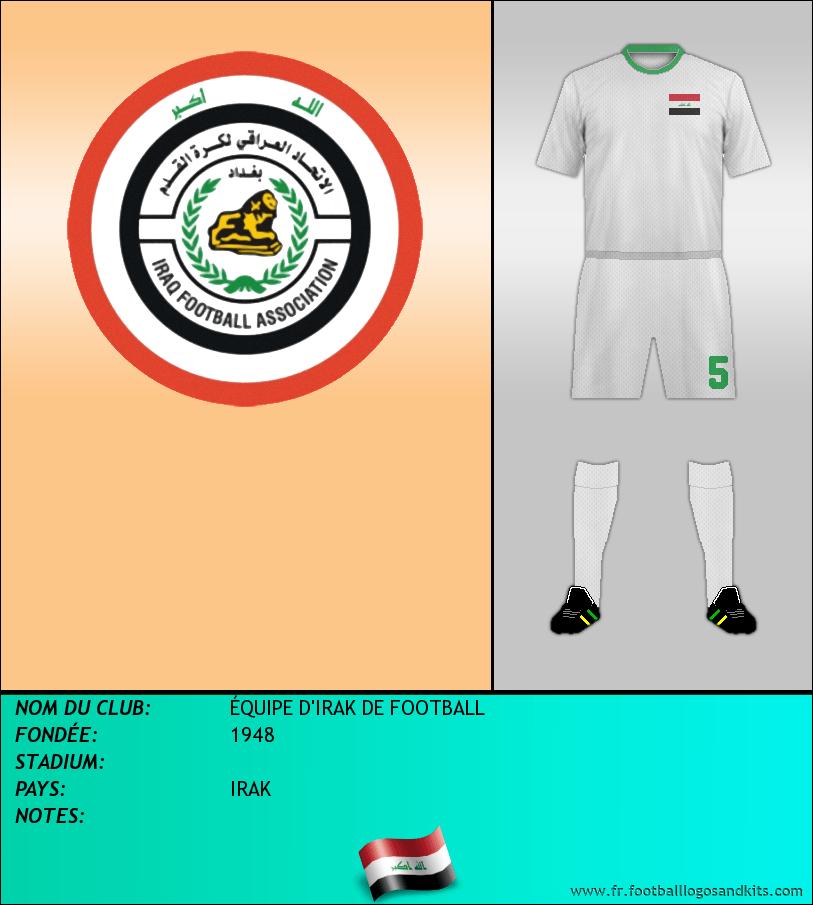 Logo de SELECCIÓN DE IRAK