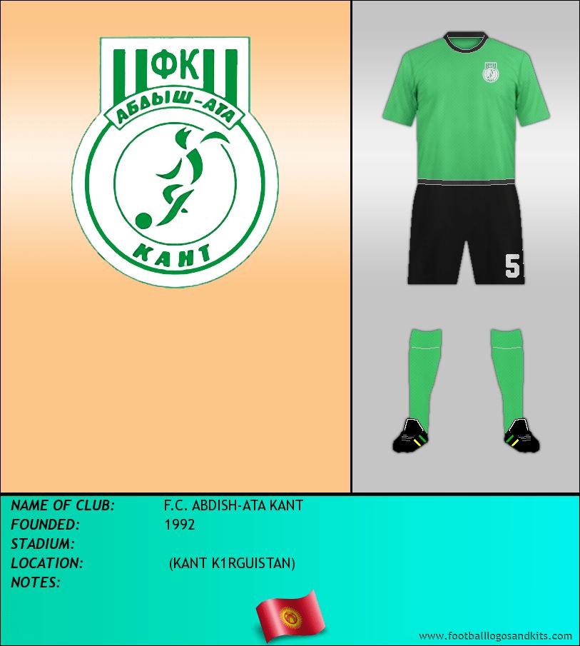 Logo of F.C. ABDISH-ATA KANT