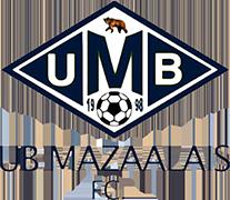 のロゴUB MAZAALAIS ・ FC