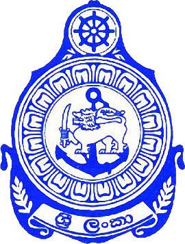 标志SRI LANA NAVY S. C。 (斯里兰卡)