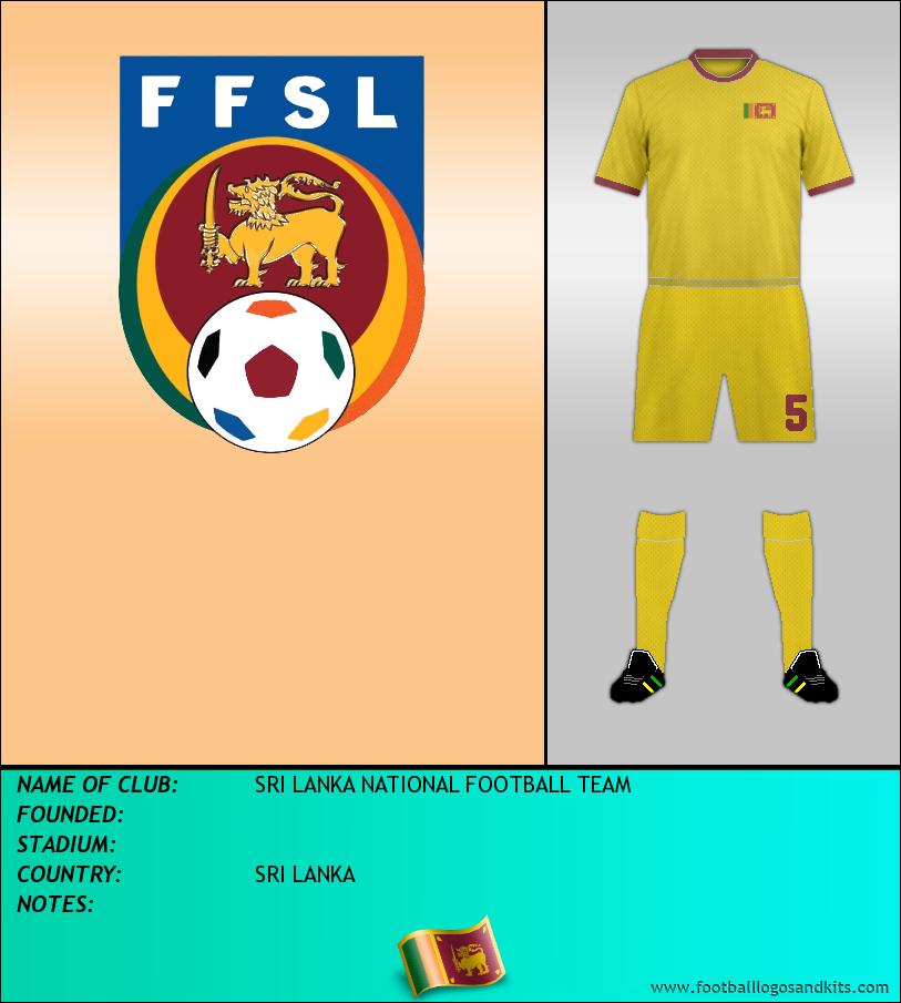 Logo of SRI LANKA NATIONAL FOOTBALL TEAM