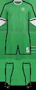 Kit TURKMENISTAN NATIONAL FOOTBALL TEAM