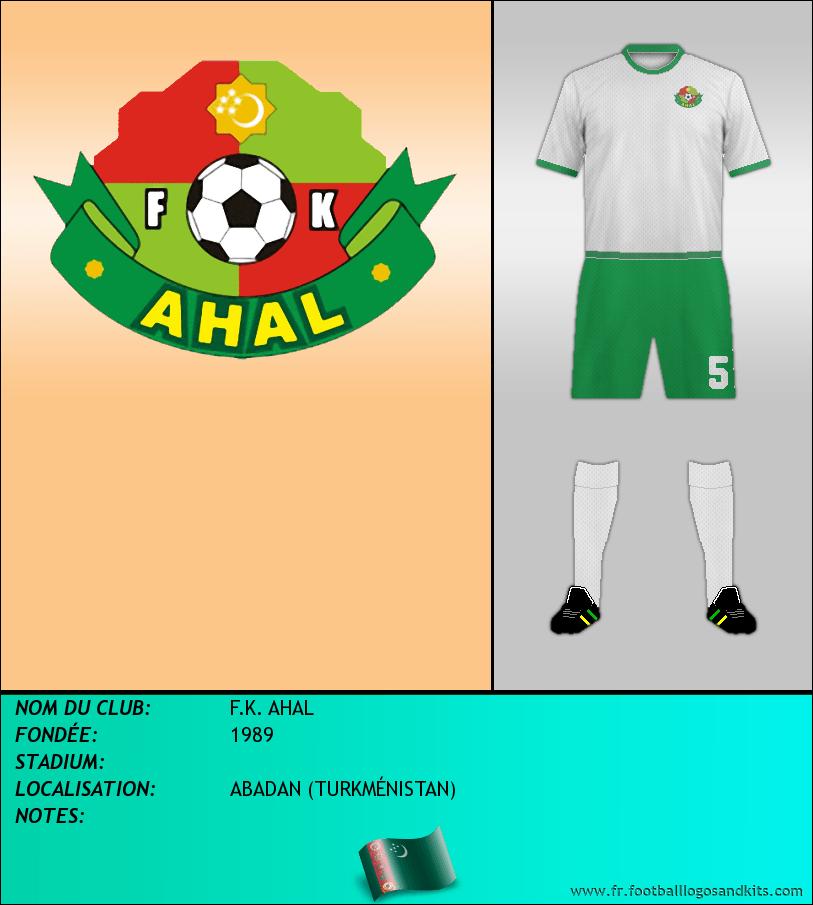 Logo de F.K. AHAL