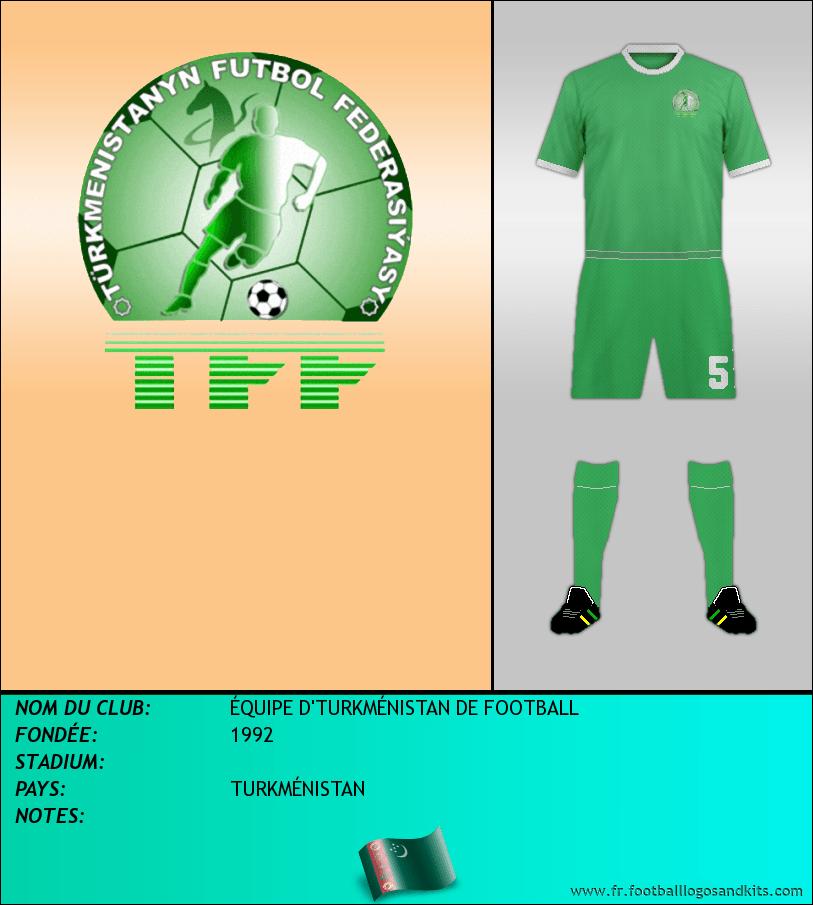 Logo de SELECCIÓN DE TURKMENISTÁN