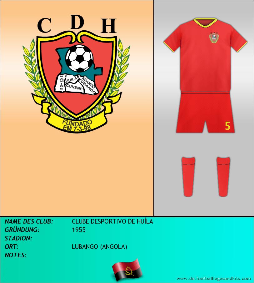 Logo CLUBE DESPORTIVO DE HUÍLA
