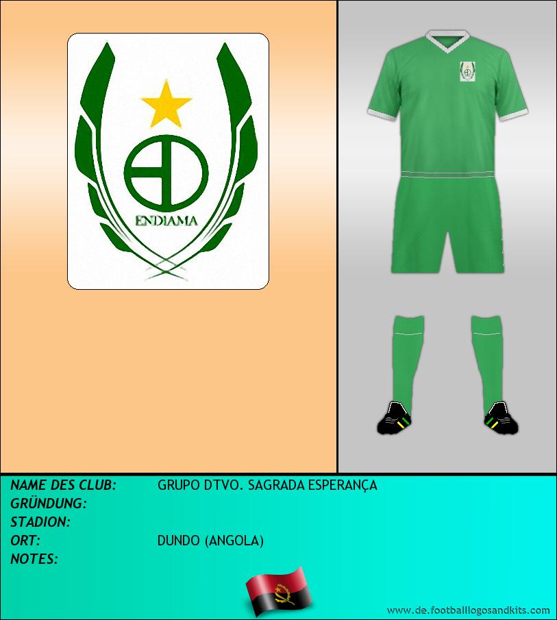 Logo GRUPO DTVO. SAGRADA ESPERANÇA
