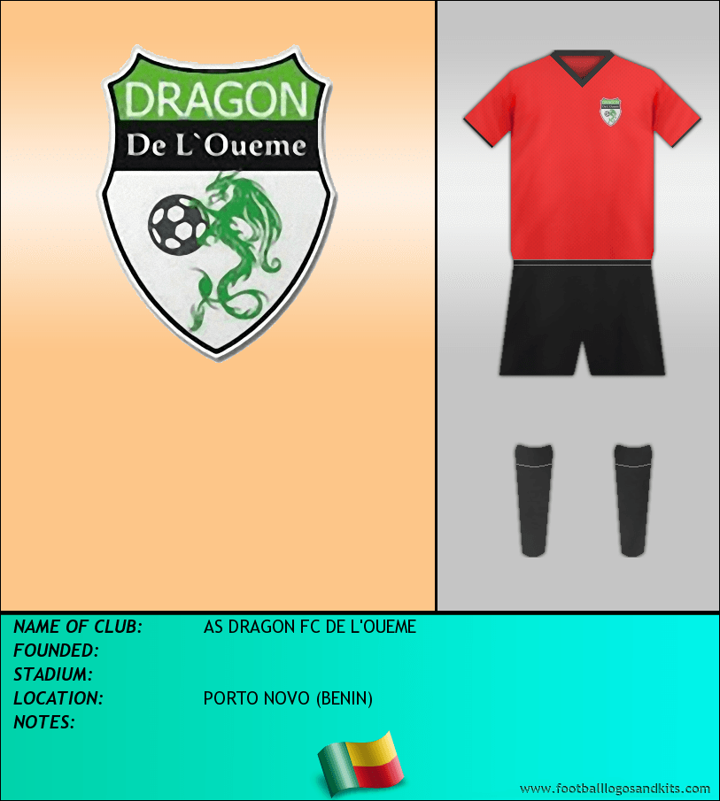 Logo of AS DRAGON FC DE L'OUEME