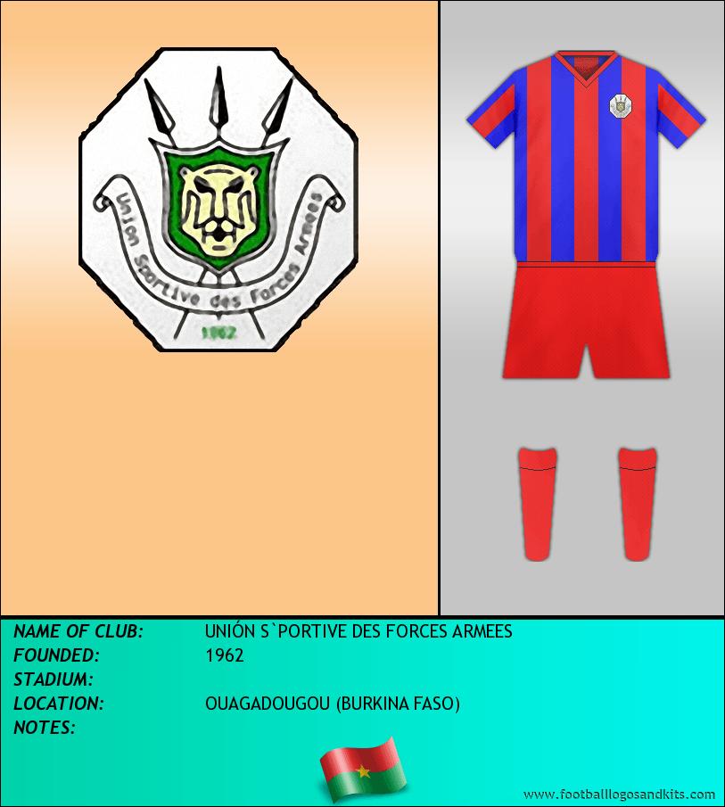 Logo of UNIÓN S`PORTIVE DES FORCES ARMEES