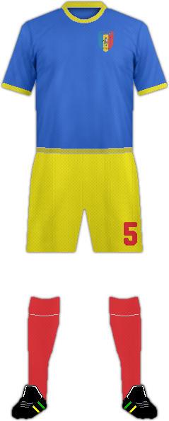 Kit CHAD NATIONAL FOOTBALL TEAM