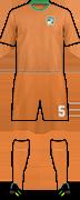 Kit IVORY COAST NATIONAL FOOTBALL TEAM