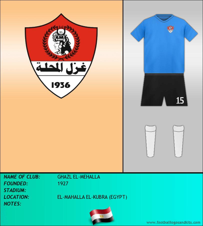 Logo of GHAZL EL-MEHALLA