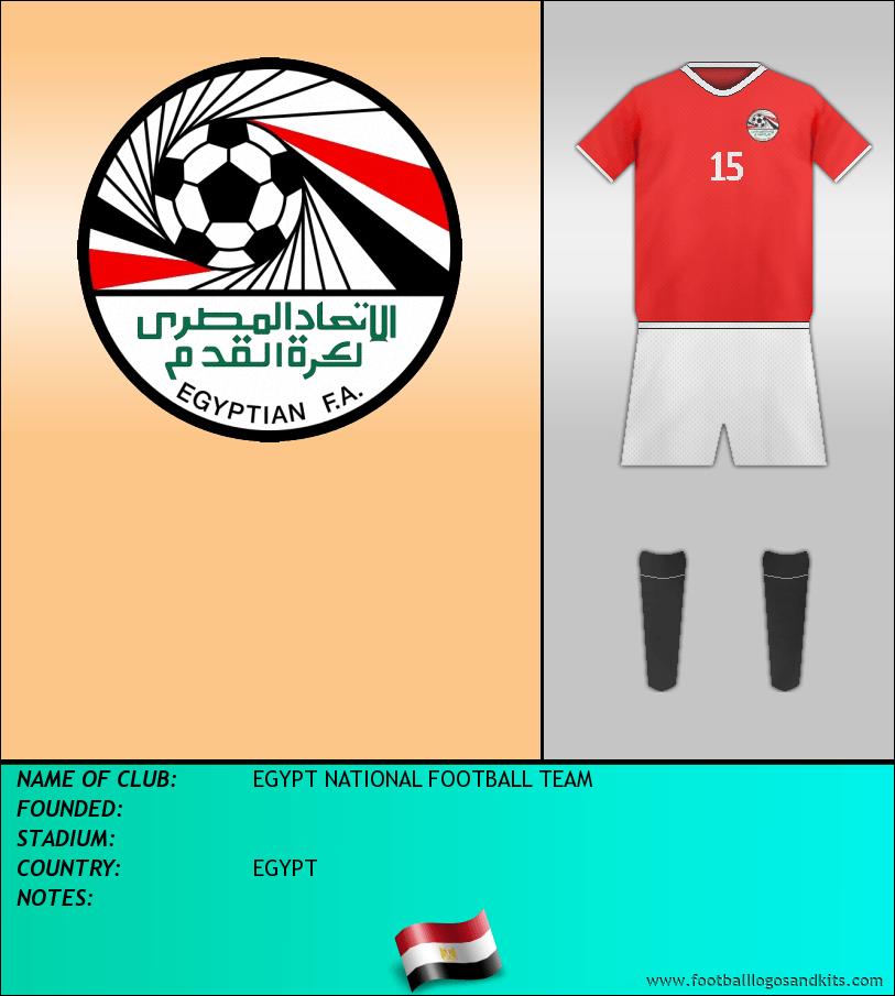 Logo of SELECCIÓN EGIPCIA DE FÚTBOL