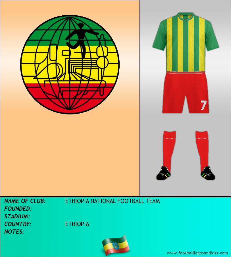 Logo of ETHIOPIA NATIONAL FOOTBALL TEAM