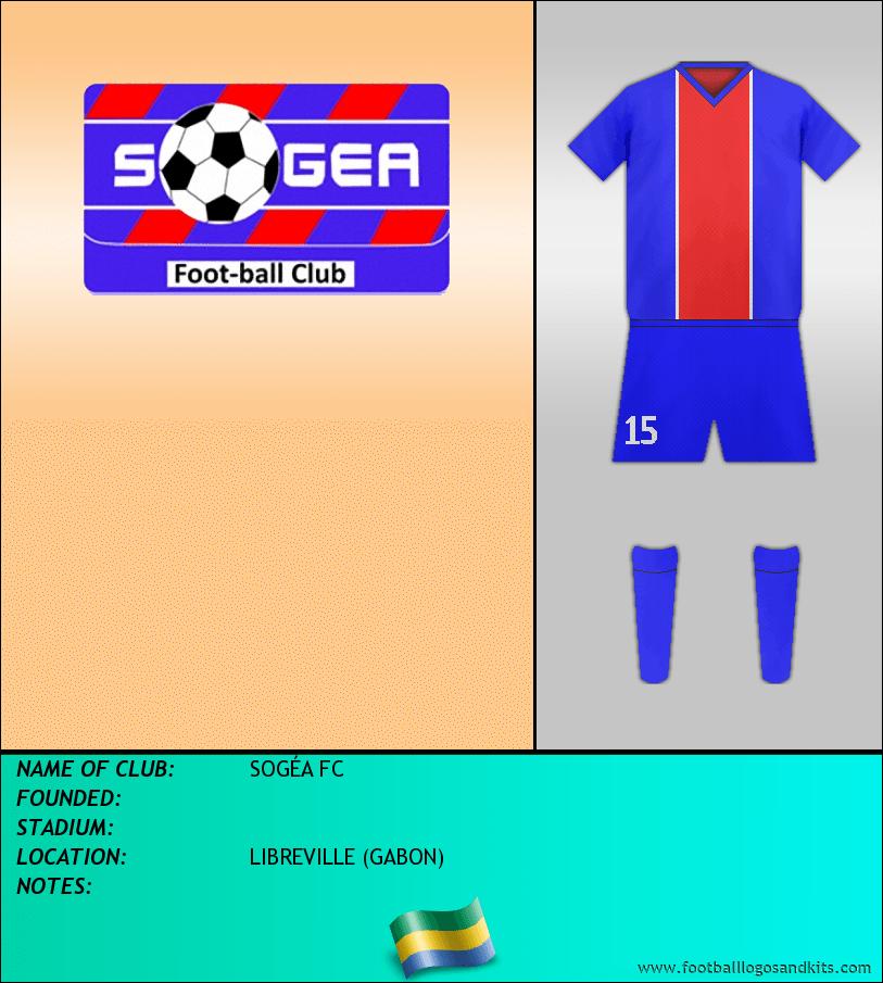 Logo of SOGÉA FC