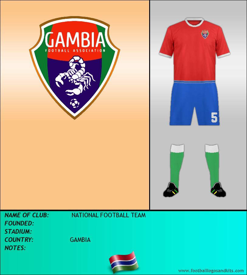 Logo of SELECCIÓN DE GAMBIA