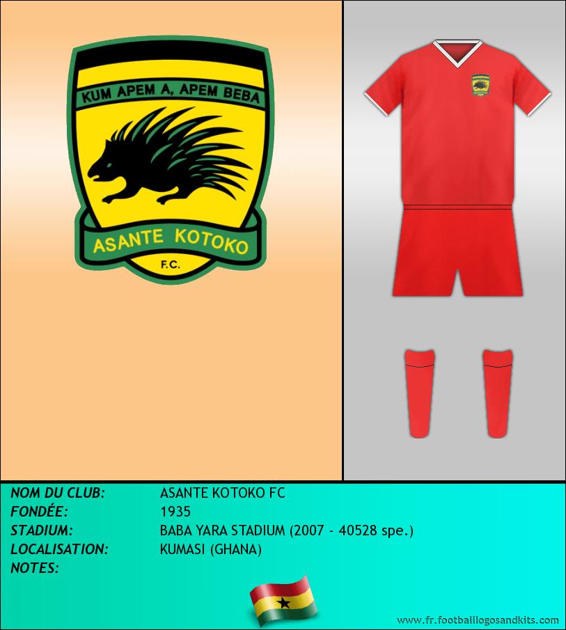 Logo de ASANTE KOTOKO FC