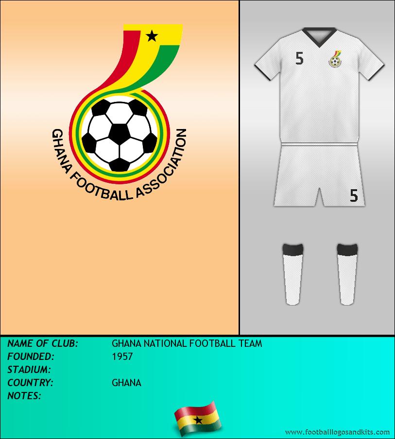 Logo of SELECCIÓN GHANESA DE FÚTBOL