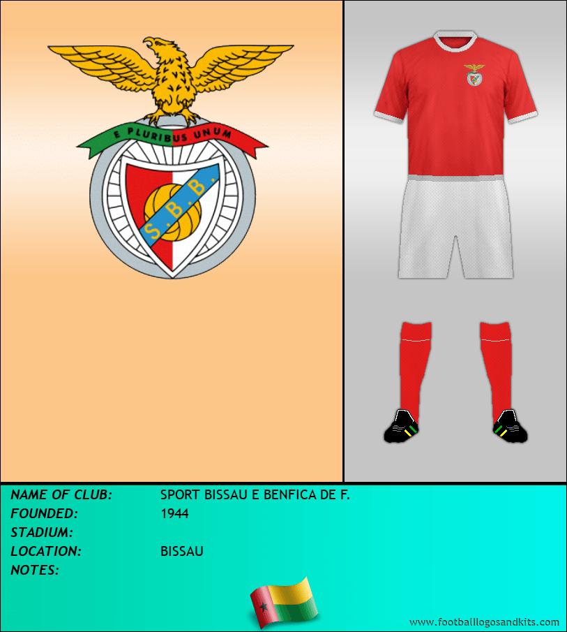 Logo of SPORT BISSAU E BENFICA DE F.