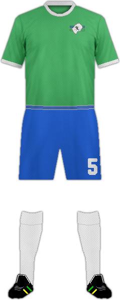Kit LESOTHO NATIONAL FOOTBALL TEAM