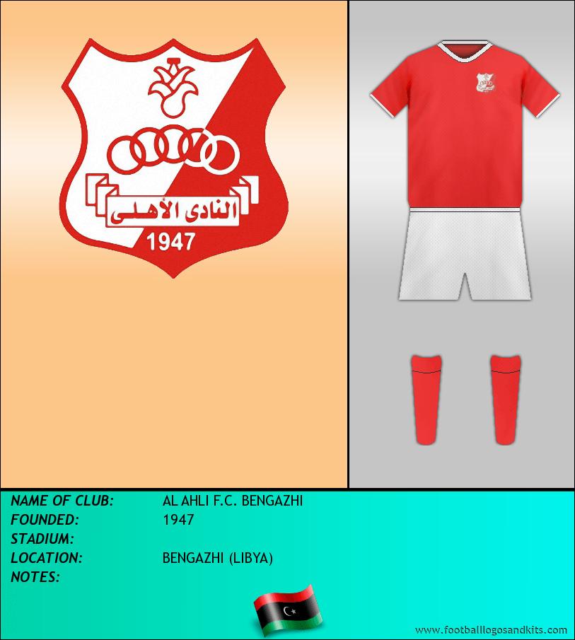 Logo of AL AHLI F.C. BENGAZHI