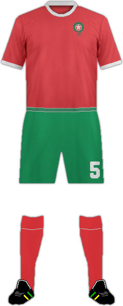 Kit MOROCCO NATIONAL FOOTBALL TEAM
