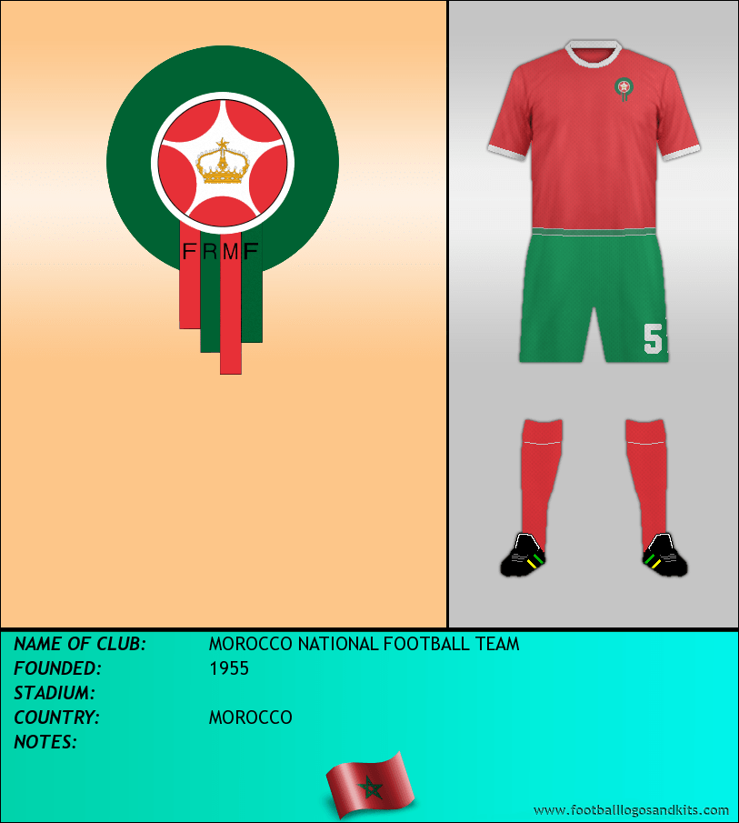 Logo of MOROCCO NATIONAL FOOTBALL TEAM