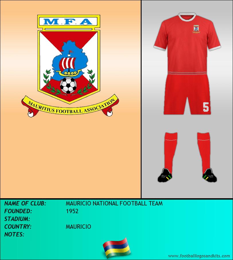 Logo of MAURICIO NATIONAL FOOTBALL TEAM