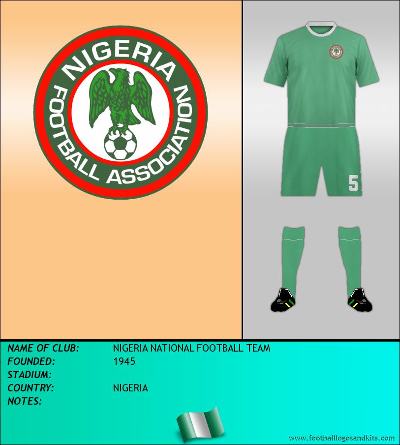 Logo of SELECCIÓN DE NIGERIA