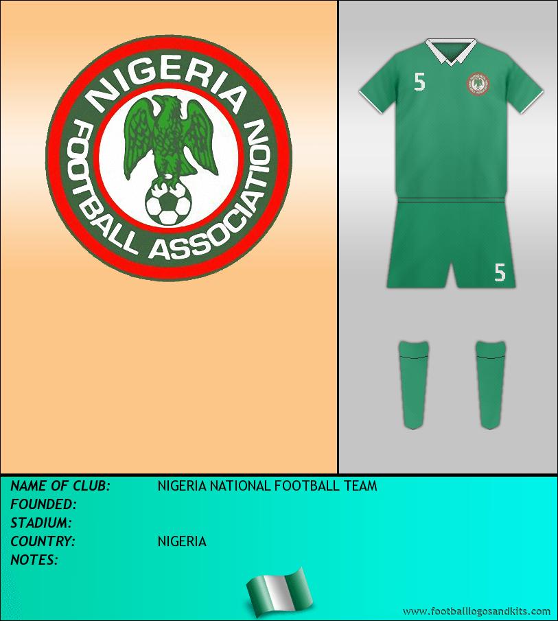 Logo of SELECCIÓN NIGERIANA DE FÚTBOL