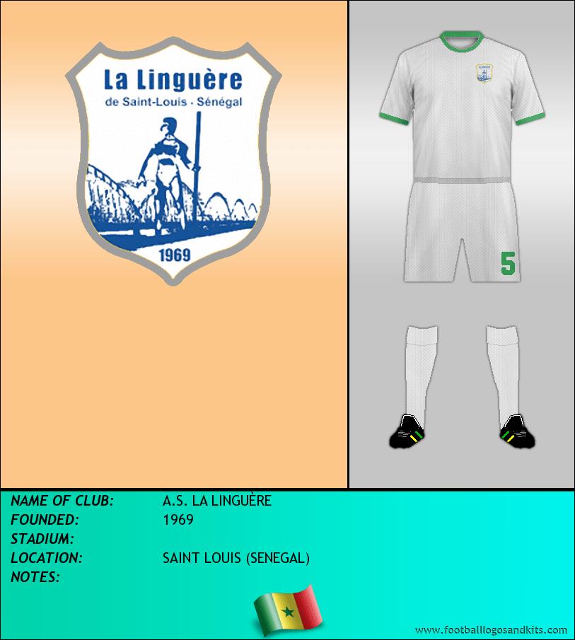 Logo of A.S. LA LINGUÈRE