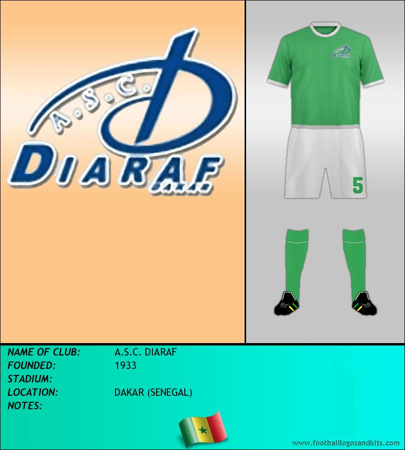 Logo of A.S.C. DIARAF