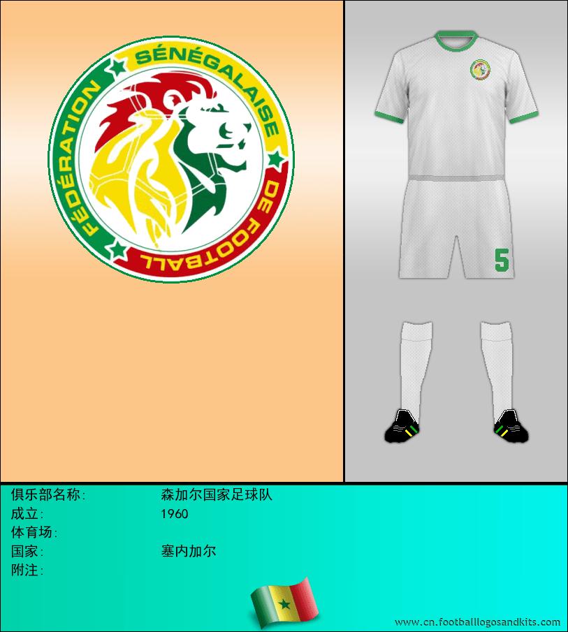 标志森加尔国家足球队