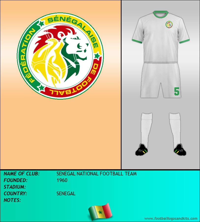 Logo of SENEGAL NATIONAL FOOTBALL TEAM