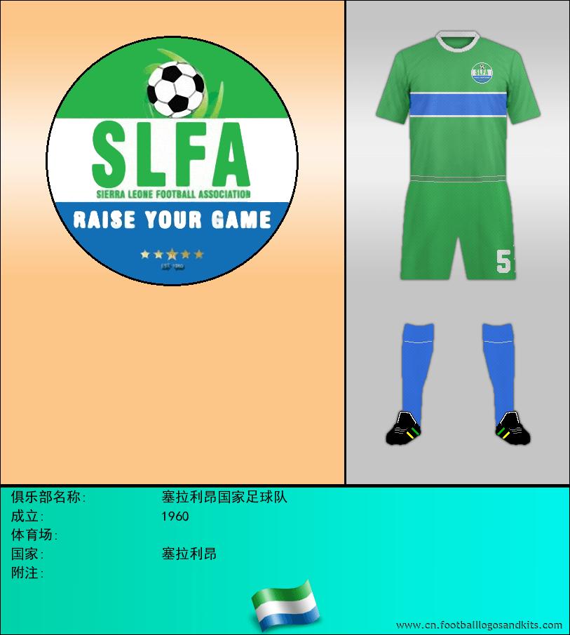 标志塞拉利昂国家足球队
