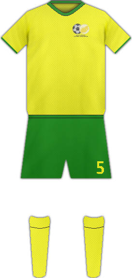 Kit SOUTH AFRICA NATIONAL FOOTBALL TEAM
