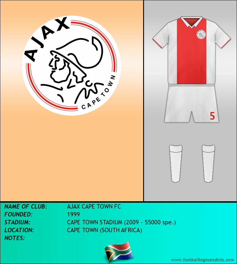 Logo of AJAX CAPE TOWN FC